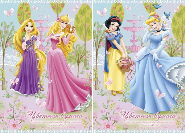 Бум цв самокл д/дет тв 10цв 10л(2мет 4фл) Папка 200*290 D2955-g,D2956-g-ЕАС Princess