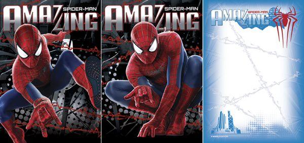 Бл 40л Клей 120*170 SM2A5/2-ЕАС твин УФ Spider-man Amaizing 2 (movie)