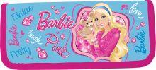 Пенал жесткий ламинированный, с креплениями для канцелярских принадлежностей. Описание: 1 отделение, прочный кант, жесткая обложка. Barbie