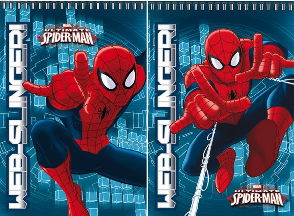 Бл 40л Wсп 75*110 SM282/2-ЕАС кл полн УФ Spider-man