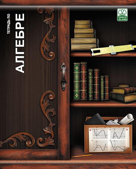 Тетр алгебра 48л скр А5 кл 6786-EAC Полки с книгами