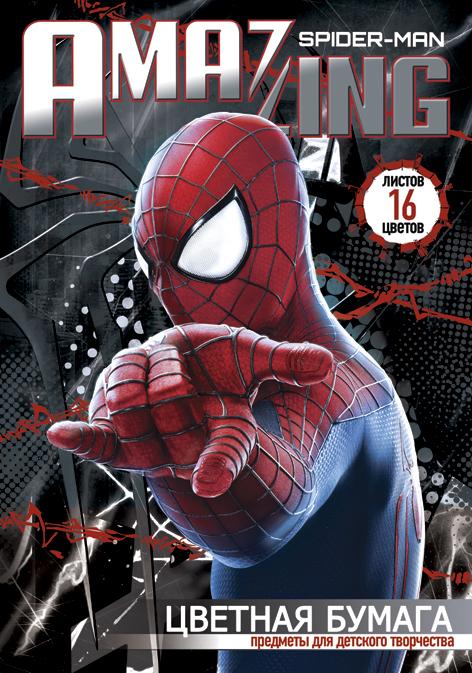 Бум цв д/дет тв 16цв 16л скр 200*285 SM2A6-ЕАС Spider-man Amaizing 2 (movie)
