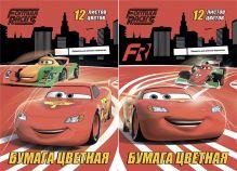 Бум цв д/дет тв 12цв 12л(тониров в массе) Папка 200*290 D3252/2-ЕАС Cars