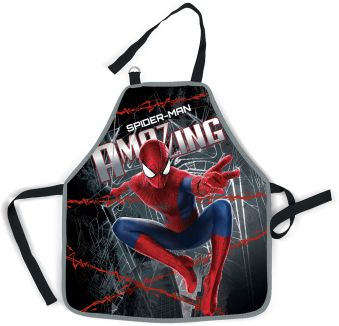 Фартук Размер 51 х 44 см. Размер упаковки: 27 х 16,5 х 0,5 см Упак. 12/36/72 шт. Amazing Spider-man 2