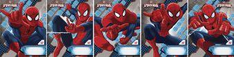 Тетр 12л скр А5 лин карт SM307/5-EAC полн УФ Spider-man