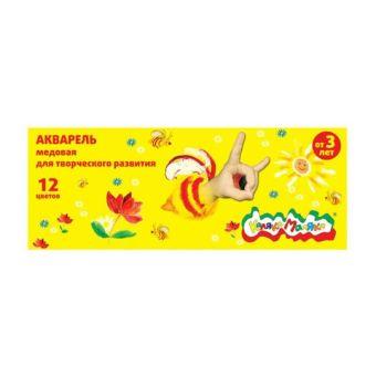 Акварель Каляка-Маляка 12 цв. карт.уп.