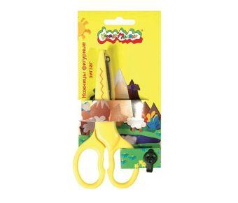 Ножницы детские 13,50 см зиг-заг
