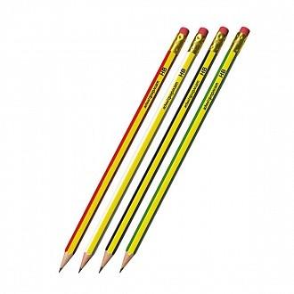 Карандаш с ласт. schoolФОРМАТ LINES НВ шестигранный с заточкой