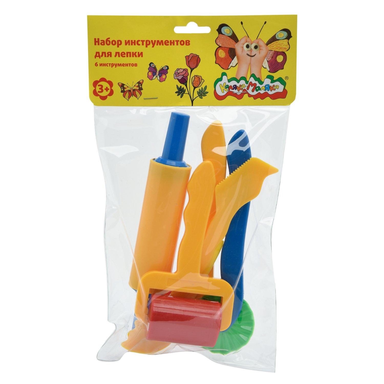Набор д/лепки Каляка-Маляка пластик 6 предметов