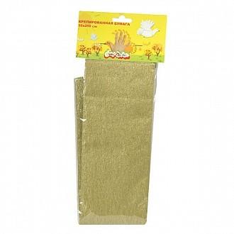 Бумага цв. крепир. 50х250 см Каляка-Маляка золото/серебро