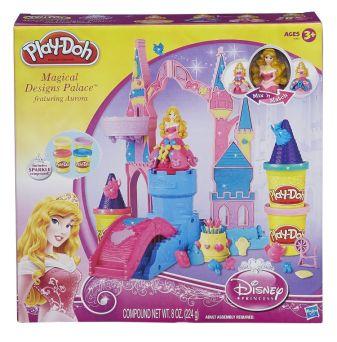 PLAY-DOH - Игровой набор для лепки Play-Doh. Чудесный замок Авроры обложка книги
