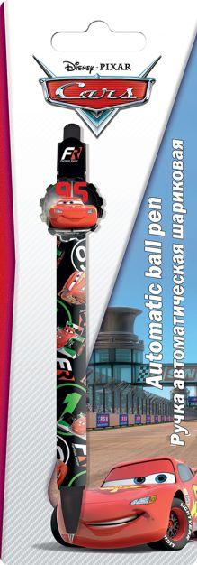 Ручка шариковая с фигурным клипом в блистере.  Размер 20 х 7 х 1,5 см Упак. 48/384 шт.Cars