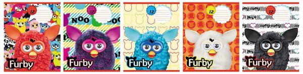 Тетр 12л скр А5 лин карт FB2/5-EAC выб УФ Furby