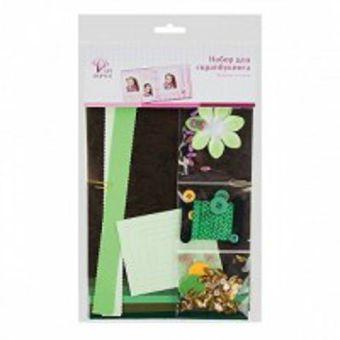 Набор д/скрапбукинга зеленые оттенки