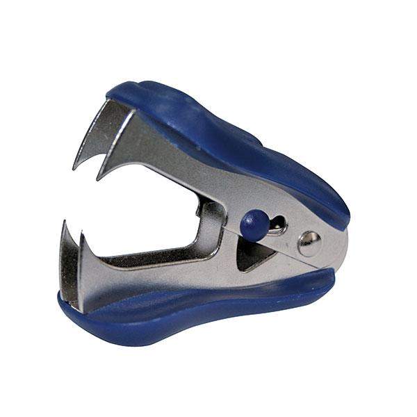 Антистеплер EAGLE синий комбинированный№ 24/6 с фикс.