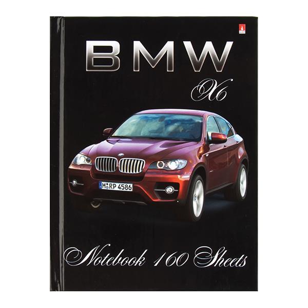 Блокнот-пр. А6 160 л. кл. BMW Х6  тв.обл. гл.лам. 55 г/м2