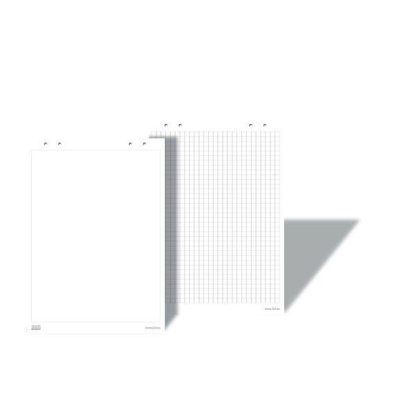 Блок д/флипчарта 58x83 см белый, 10 листов