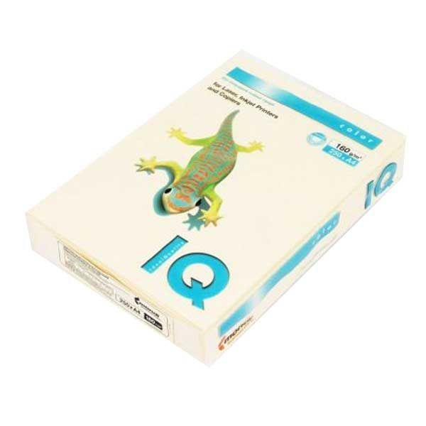 Бумага IQ COLOR 250 л. 160 г/м2 А4 кремовая