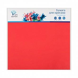 Бумага д/оригами одноцветная 30*30 50 листов