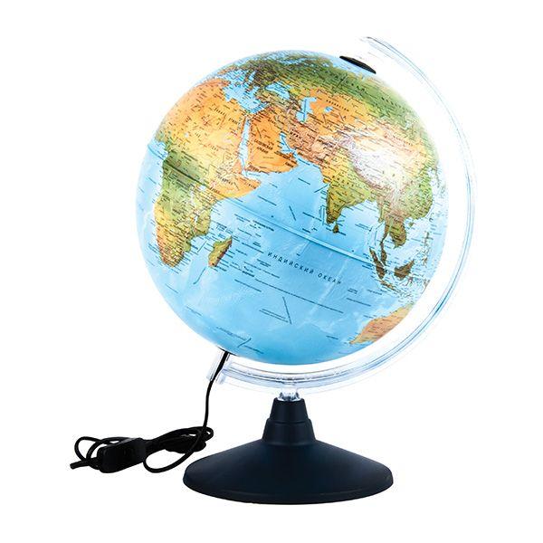 Глобус мини NOVA RICO дв.карта 25 см  подсветка