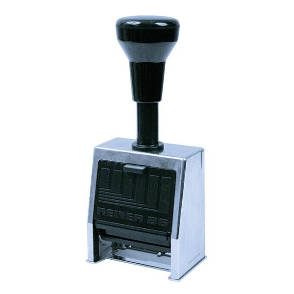 Нумератор метал. 6-разряд. 4,5мм