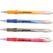 Ручка шариковая OPAL, 0,7мм, синяя,корпус ассорти (80858)