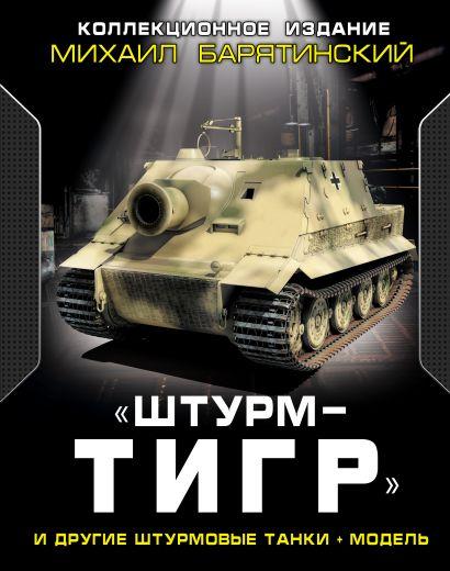 «ШтурмТигр» и другие штурмовые танки + МОДЕЛЬ. Коллекционное издание - фото 1