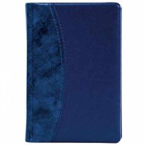Ежедневник А5 «Винтаж», недатированный, синий