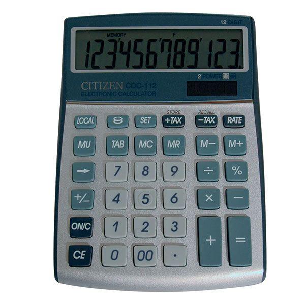 Калькулятор CITIZEN CDC112 12 р т.-син. бухгалтерский