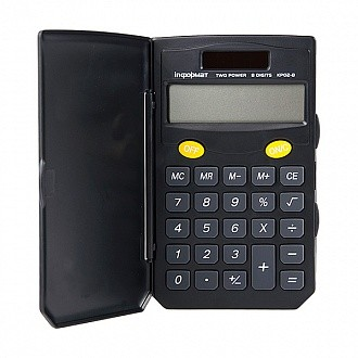 Калькулятор inФОРМАТ KP02-8 8 р черный карманный