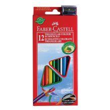 Цветные карандаши ECO с точилкой, набор цветов, в картонной коробке, 12 шт.