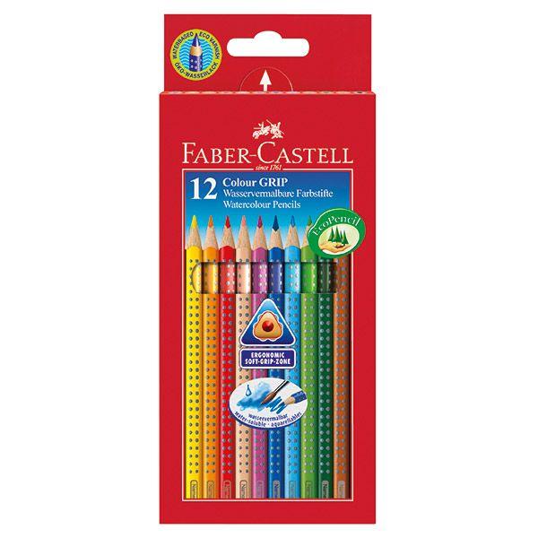 Цветные карандаши GRIP 2001, набор цветов, в картонной коробке, 12 шт.