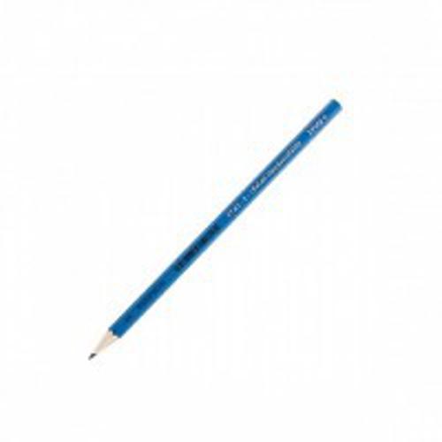 Карандаш чернографит. KOH-I-NOOR 1703-04 синий корпус НВ шестигранный с заточкой