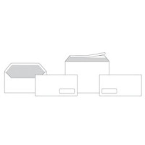 Конверт 125х125 стрип окно для CD 80 г/м2 белый