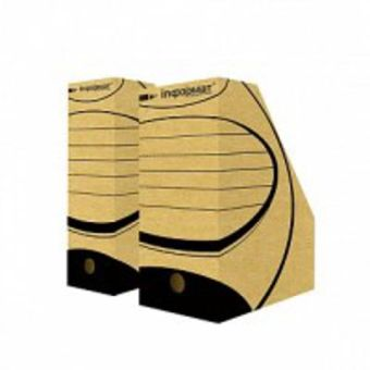 Накопитель архивный inФОРМАТ А4 серый картон 150 мм
