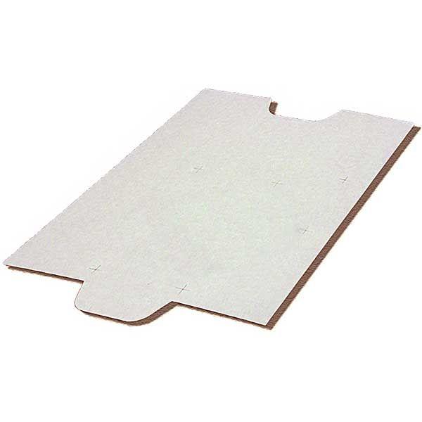 Подложка для листов ОФИССТАНД. А4 и А5  белый картон 50 штук