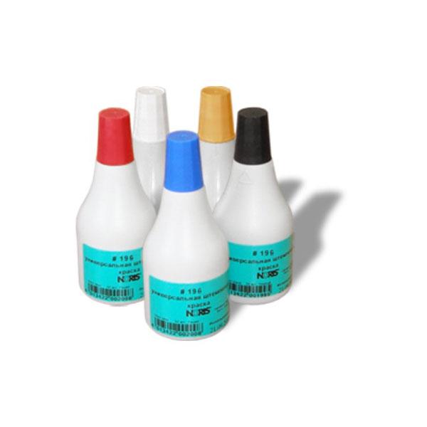 Краска штемп. NORIS для полиэтилена 250мл синий