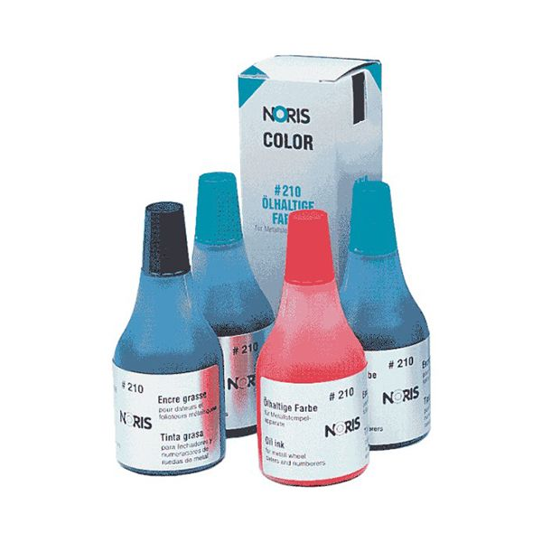 Краска штемп. NORIS масляная синий 25 мл