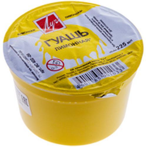 Гуашь ЛУЧ 225 мл 1 цв. лимонная
