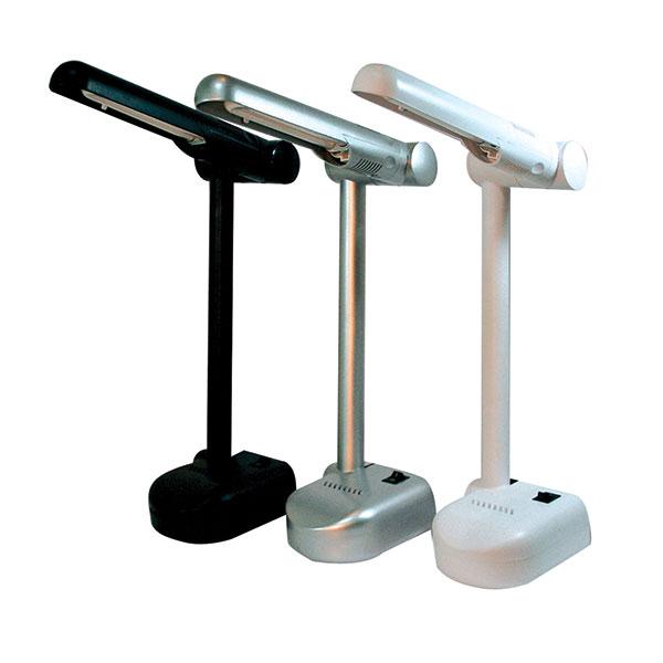 Лампа настольная люмин. KD-001/б белый 9 Вт