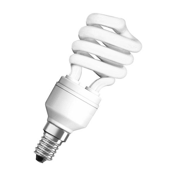 Лампа энергосбер. 827 E14 mini белый 11 Вт