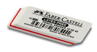 Ластик FABER-CASTELL 7008 50х19х8 мм каучук д/граф.каранд.