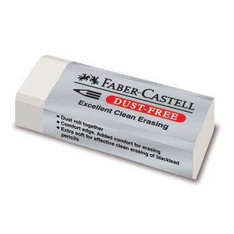 Ластик FABER-CASTELL Dust-Free винил карт.уп.