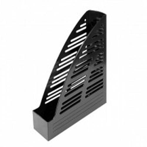Лоток вертик. inФОРМАТ 70 мм черный пластик