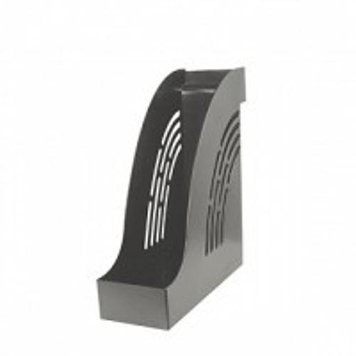 Лоток вертик. inФОРМАТ 95 мм серый пластик
