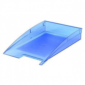 Лоток горизонт. inФОРМАТ CLASSIC синий пластик 2 шт