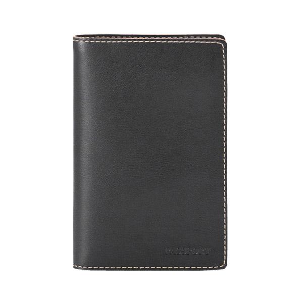Обложка д/паспорта TEXAS кожа черный