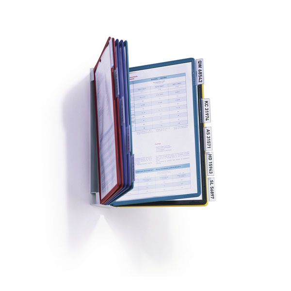 Стойка д/печат.продукции SHERPA VARIO настенная 10 панелей А4