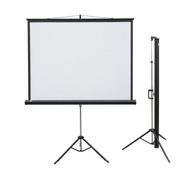 Экран проекционный на треноге мобильный 150х150 см