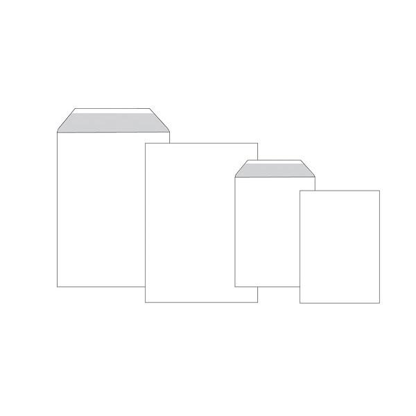 Пакет почт. оф. С4 229х324 декстрин 120 г/м2 плоск.